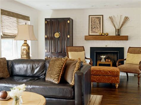 brick wall designs decor ideas  living room