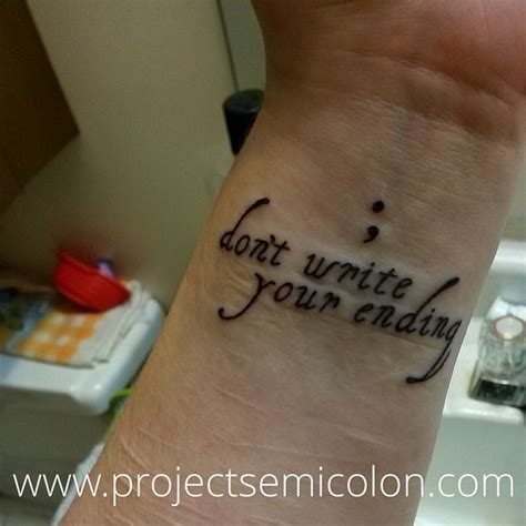 tattoo bible debate 20 creative semicolon tattoos that prove punctuation can