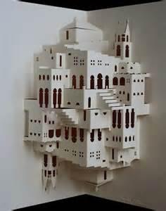 architectural origami templates kirigami l du pliage papier japonais m 233 connu