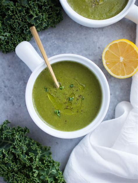 Gwenth Detox Green Soup by Detoxifying Kale Soup Thyme For Health