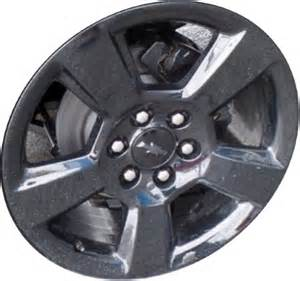 Chevy Truck Wheels Black Chevrolet Silverado 1500 Wheels Rims Wheel Stock Oem