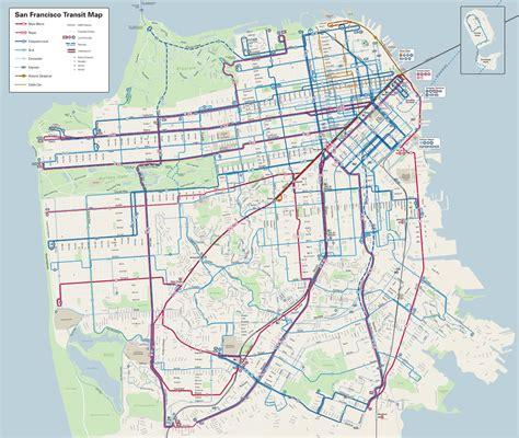 san francisco map high resolution cartography spur