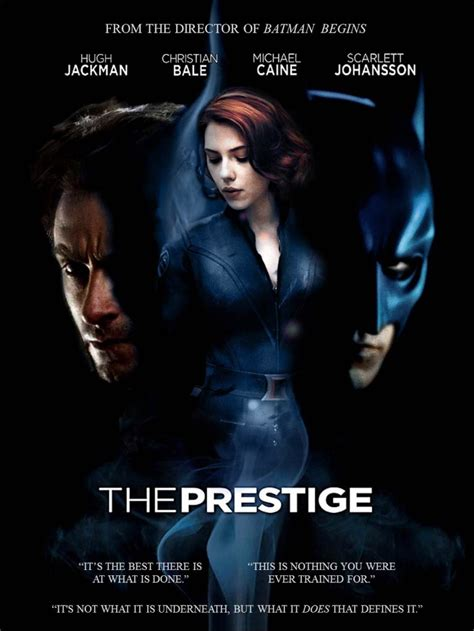The Prestige A Reviewits Batman Vs Wolveri by Montages The Prestige At Le Saigneur Des Nabots