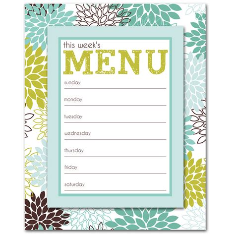 fun menu templates 2 best agenda templates