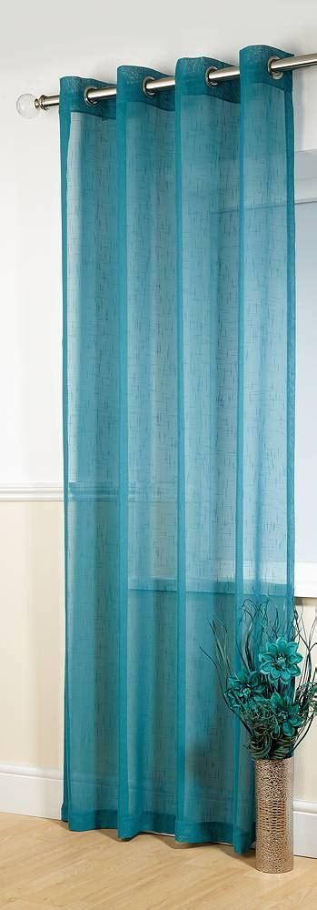 teal net curtains banbury teal linen look panel net curtain 2 curtains