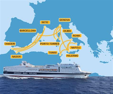 porto genova grandi navi veloci traghetti grandi navi veloci biglietti orari flotta e rotte