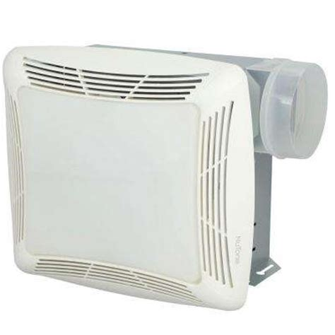 Nutone 100 Cfm Ceiling Directionally Adjustable Bathroom Exhaust Fan With Light And 1500 Watt Nutone Bathroom Exhaust Fans Bath The Home Depot