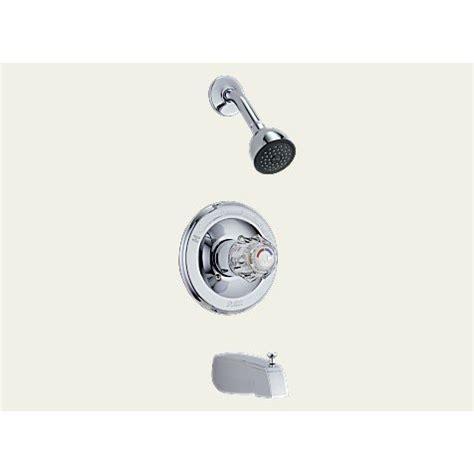 Shower Faucet Trim Plate by New Delta Scald Guard Tub Shower Faucet T13422 Chrome Trim Plate Inc Universal R10000 Unbx