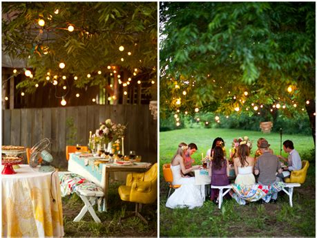 back yard party decoration outdoor party decorations