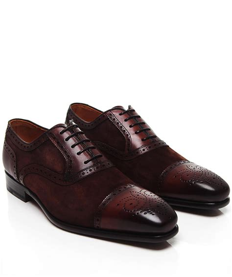 magnanni oxford shoes magnanni suede panel oxford shoes available at jules b