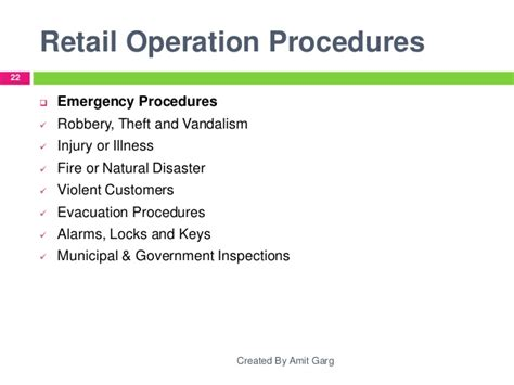 store operations manual template retail store operations brief research