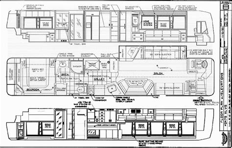 prevost floor plans coach rv conversion plans house design and