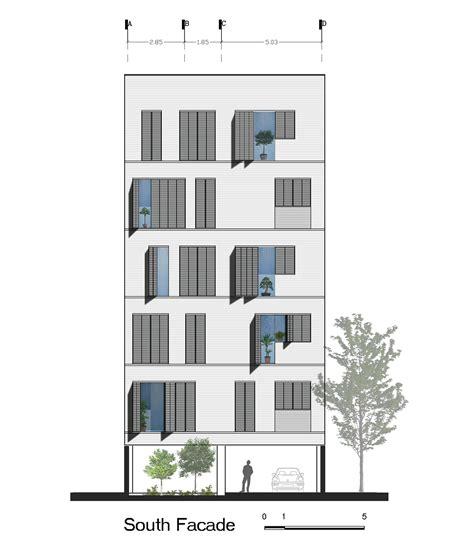 Building Floor Plan gallery of andarzgoo residential building ayeneh office 18