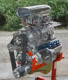 350 engine with 8 71 blower