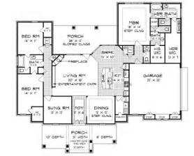House Plans Open Concept by South Oaks 2315 4740 3 Bedrooms And 3 Baths The