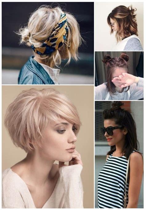foto de peinado con pelo mediano 70 peinados para cabello corto rapidos y sencillos