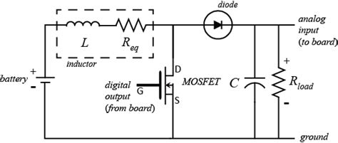 inductor voltage boost circuit tutorials for matlab and simulink feedback of a boost converter circuit