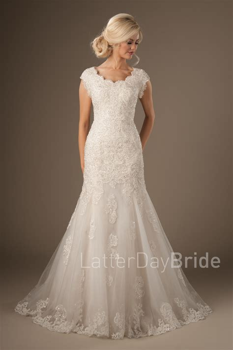 Lds Wedding Dress by Modest Wedding Dresses Silverthorne