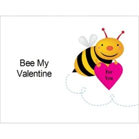 Bee Card Template by Templates Bee My On Postcards 4 Per Sheet Avery