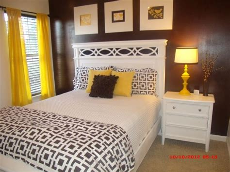 yellow and brown bedroom office extra bedroom yellow and brown home decor