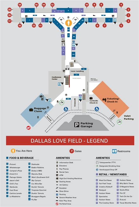 dallas texas airport map dallas field airport map