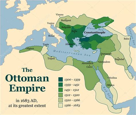 ottoman turk empire ottoman empire acquisitions stock vector 169 furian 60445753
