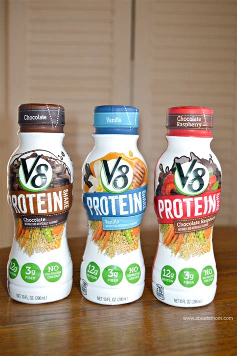 8 protein shakes a day v8 protein a simple way to kick start your day about a