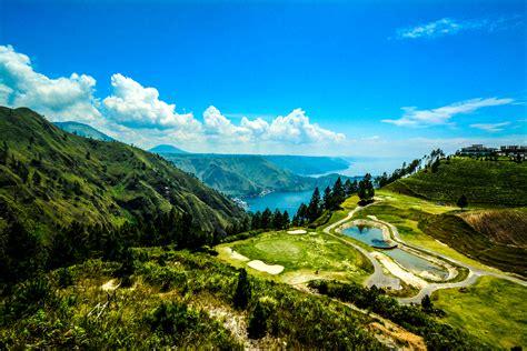 Nature Indonesia wallpapers indonesia lake toba sumatra nature mountains