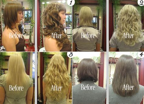 wedding hair extensions before and after wedding hair extensions before and after