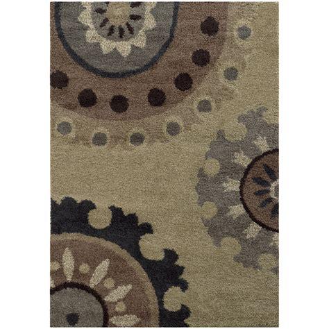 10x13 beige circles dots loops hoops area rug sphinx