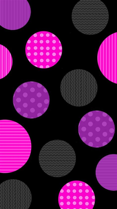 wallpaper pink circle 1000 images about poka dots on pinterest iphone