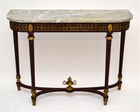 marble top table furniture legacy pemberleigh console table with