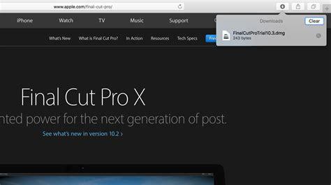 Final Cut Pro X Trial | apple na sv 253 ch str 225 nk 225 ch omylem zveřejnil trial verzi
