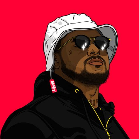 Schoolboy Q Drawing by Schoolboy Q By Itsmcflyy On Deviantart