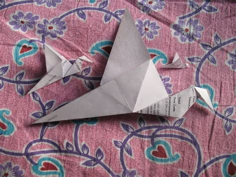 Wikihow Origami Crane - 25 best ideas about origami flapping bird on