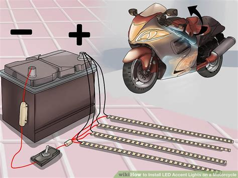 Led Wiring Diagram Multiple Lights On A Motorcycle How To Install Led Lights On A Motorcycle