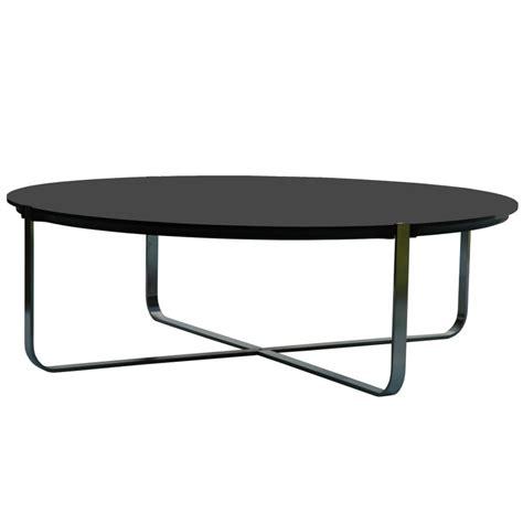 Table Basse Design Ronde C1 Noire Pure Deco Design Table Basse Rangement Alinea