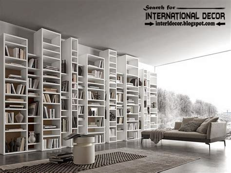 modern home library top 10 modern home library design ideas and organization