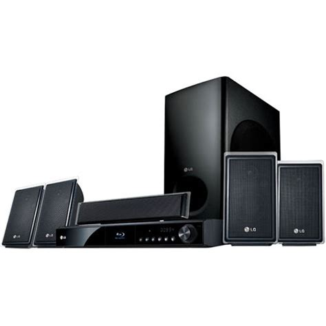 lg 5 1 channel disc home theater system lhb535 b h