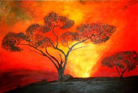 Pflanze Einen Baum 4700 sonnenaufgang rot baum gl 252 hen sonnenaufgang