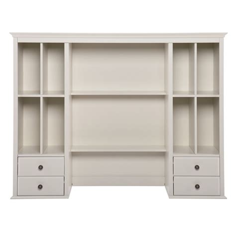 white office desk with hutch barrington white office desk hutch