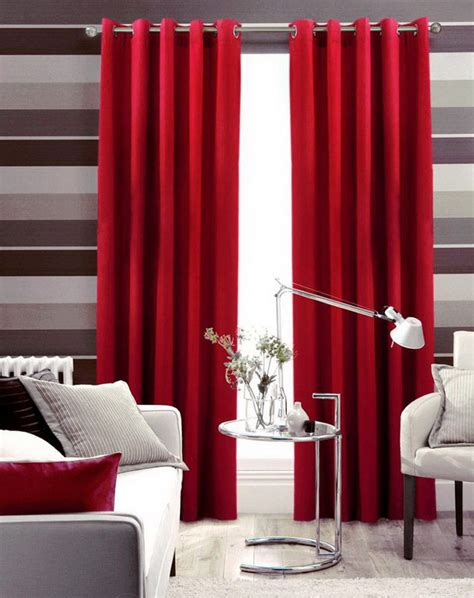 red curtains for living room flirty red living room curtains ideas abpho