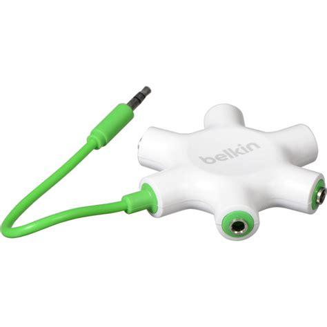 Dijamin Belkin Rockstar 5 Ways 3 5mm Headphone Splitter belkin rockstar 5 way headphone splitter white f8z274bt b h