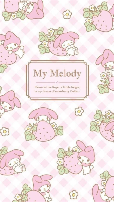 Iphone6 6s My Melody マイメロディ11 iphone壁紙 wallpaper backgrounds iphone6 6s and