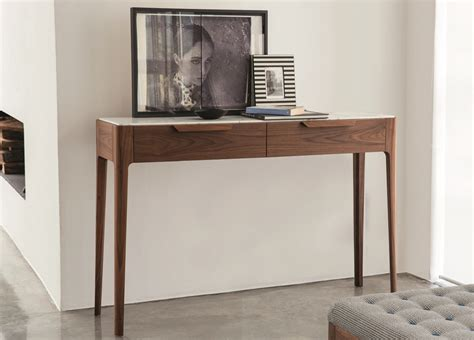 modern console table with drawers porada ziggy console table with drawers porada furniture