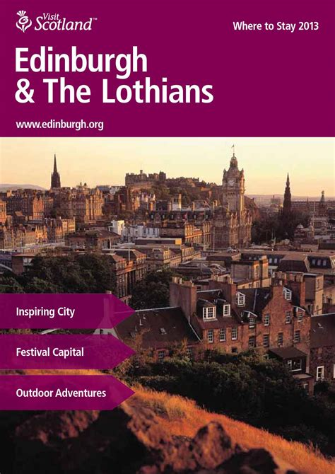 Welcome To Edinburgh I On Readers by Edinburgh The Lothians By Bookletia Issuu