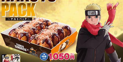 film naruto nouveau des takoyaki et des goodies pour le nouveau film naruto