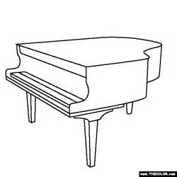piano coloring pages piano coloring page new calendar template site