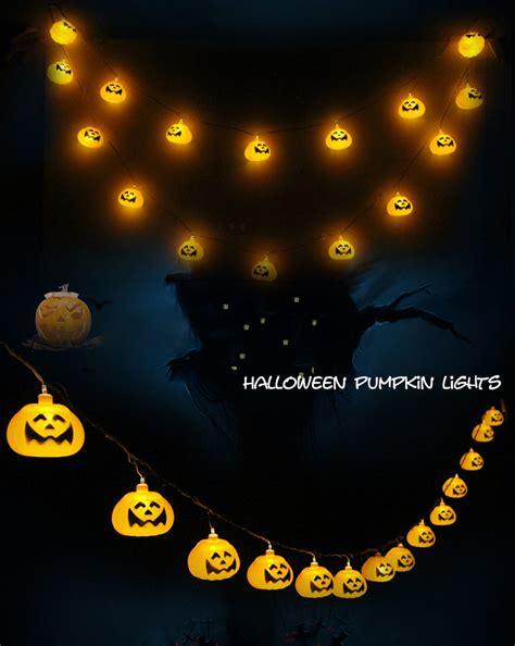 halloween ghost string lights halloween ghost pumpkin colorful string lights garden