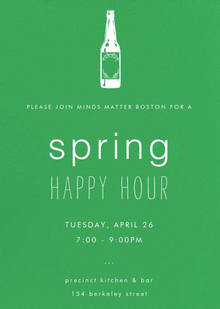 Happy Hour Deny Away April by Event Mentor Happy Hour Minds Matter Boston